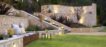 sloped backyard landscaping space landscape designs