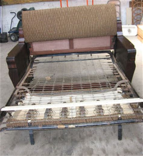antique sleeper sofa black dog salvage architectural antiques custom