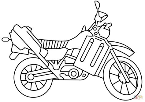 mouse and the motorcycle coloring pages coloring pages