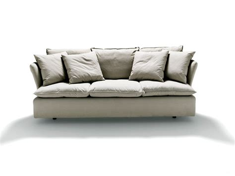 removable couch covers sofa with removable cover lenny sofa by meridiani thesofa