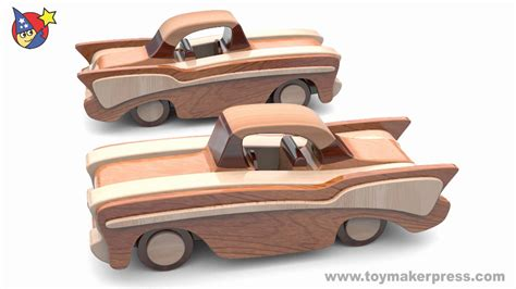 car plans wood toy plans classic cars 57 chevy youtube