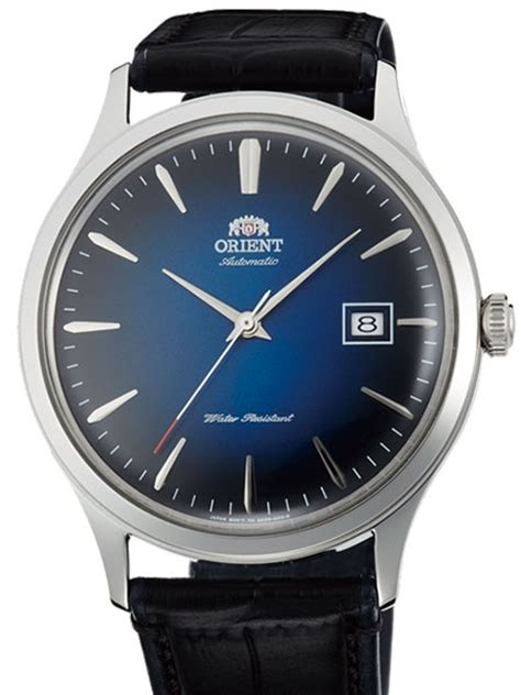 Orient Bambino Automatic Blue orient bambino version 4 automatic dress with blue