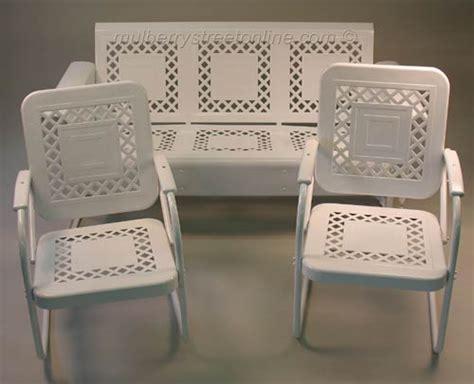 metal porch chairs vintage metal furniture vintage porch furniture
