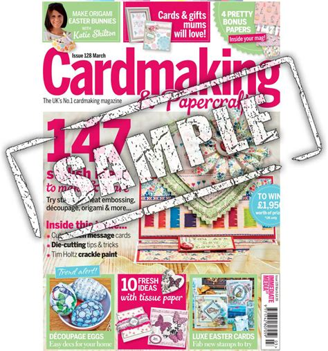Cardmaking Papercraft Magazine - cardmaking papercraft magazine shop abroad