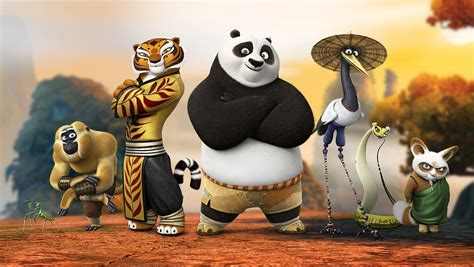 imagenes de los personajes de kung fu panda 3 the dragon warrior master shifu and the furious five 3