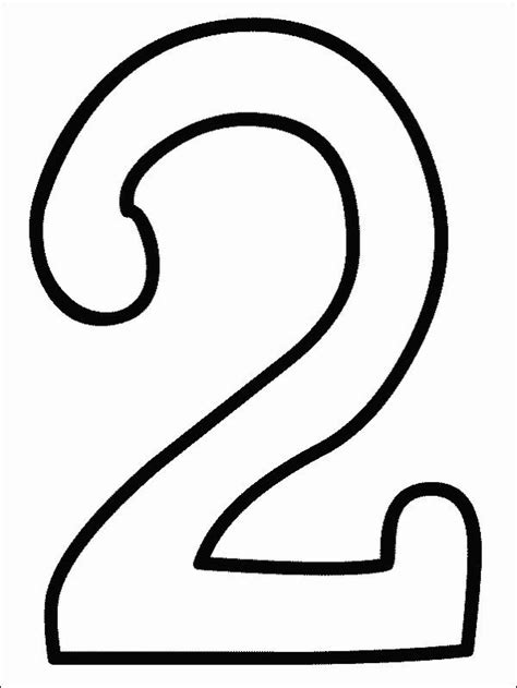 numbers coloring page print numbers pictures  color