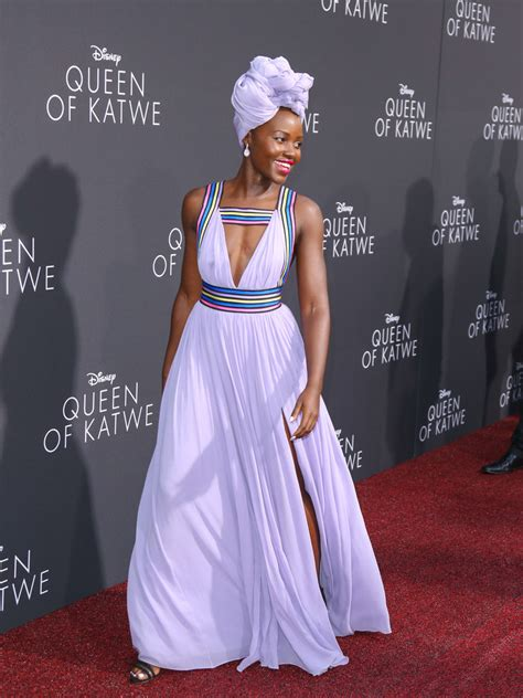 Lupita Dress lupita nyong o cutout dress clothes lookbook stylebistro