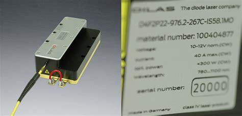 high power laser diode pdf dilas delivers the 20 000th fiber laser module