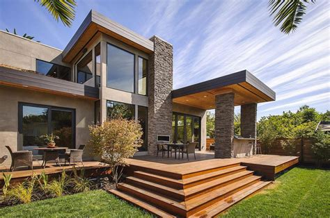 Home Outdoor World Of Architecture Contemporary Style Home In
