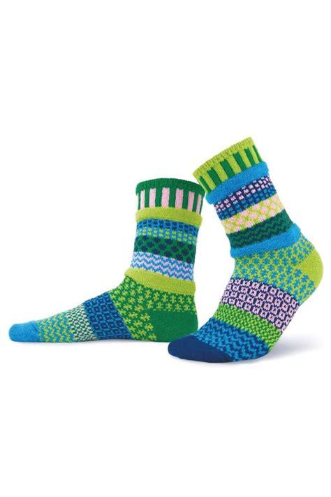 solmate socks mismatched knit socks from philadelphia by