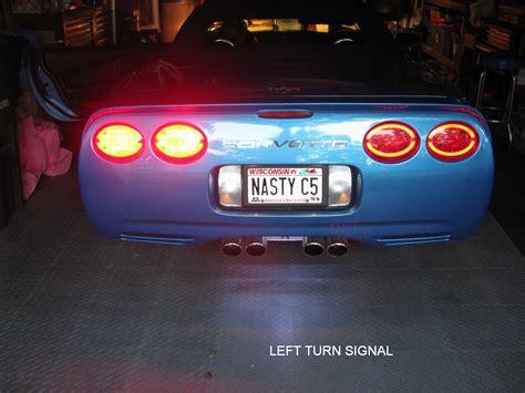 c5 led lights c5 corvette led halo taillights autos post