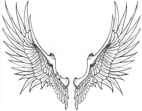 tattoos of angels with wings cool tattoos bonbaden