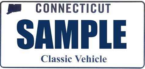 Ct Dmv Vanity by Dmv Classic Vehicle Plate