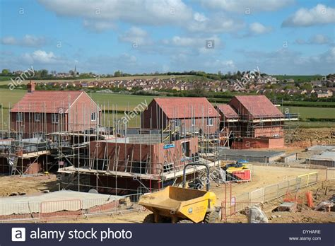 houses to buy in grantham construction of new housing estate grantham lincolnshire england stock photo