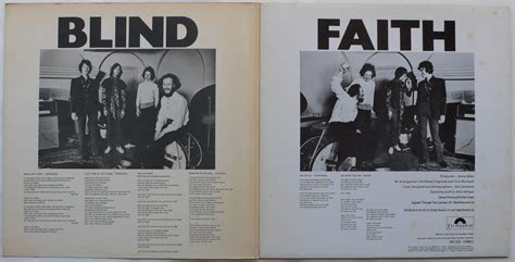 Blind Faith Uk True First Pressing Lp Blind Faith