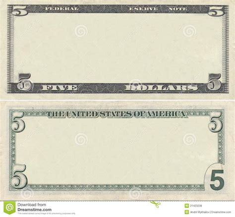 blank dollar bill template dollar bill coupon templates clipart