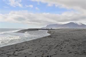 black sand beach in iceland passport pinterest