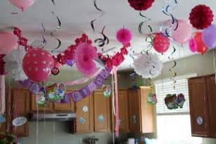 Birthday Home Decorations The House Decorations For The Babies Birthday