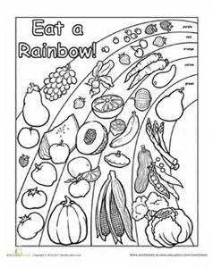 Pin Healthy Habits Coloring Page Pictures On Pinterest sketch template
