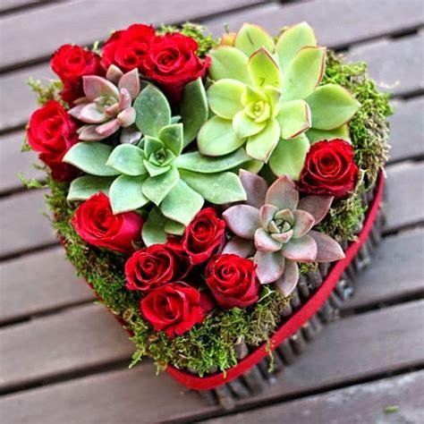shaped flower arrangements valentines day 9 diy flower arrangements for s day