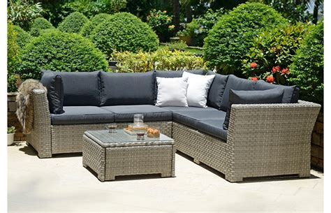 Corner Rattan Set   Garden Furniture   Out & Out Original