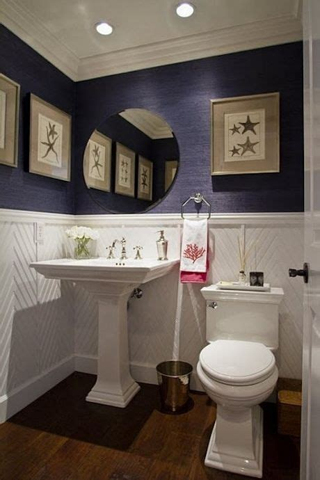 navy and white bathroom 17 best images about pink half bathroom redesign ideas on