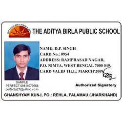 indian college id card template indian press identity card www pixshark images