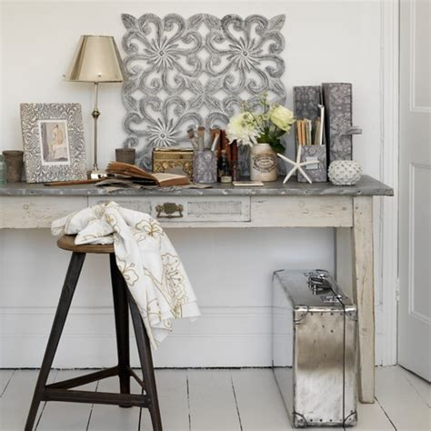 distressed home decor grey home office neutral decorating ideas housetohome co uk