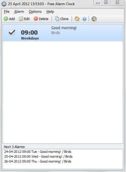 free alarm clock software for windows