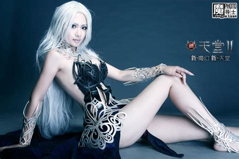 giants  chinese cosplay bring  lineage ii  evangelion