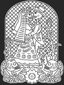 day of the dead coloring pages free day of dead coloring pages