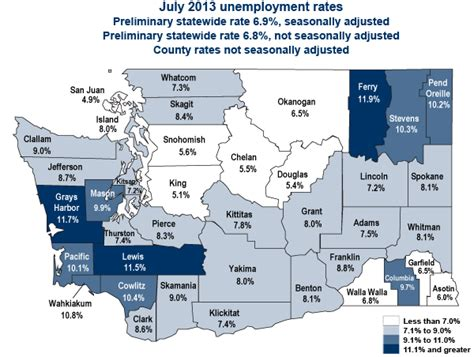 grays harbor no longer the highest unemployment statewide
