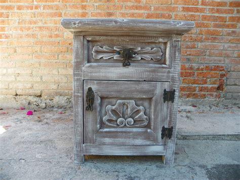 Buro Vintage by Bur 243 Vintage Tallado En Madera Y Con Decapado Antiguo