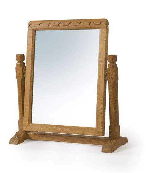 solid oak stand mirror be230 shop