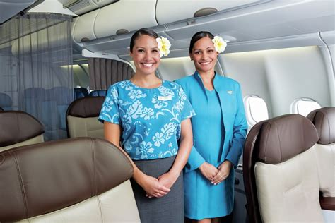 Hawaiian Airlines Cabin Crew hawaiian airlines has had some awesome flight attendant uniforms the years huffpost