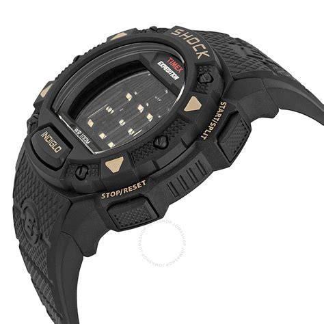Shock Expedition timex expedition shock digital black resin s
