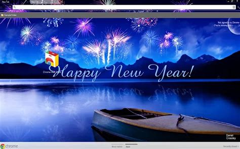 new themes a 8 new year s eve chrome themes to help ring in the new