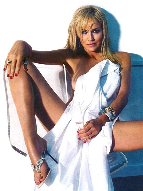 sharon stone reveals her secret to looking so young i cried when i realised i was ageing 55 year old sharon