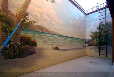 exterior wall murals hawaiian paradise retaining wall mural mediterranean exterior san francisco by murals by