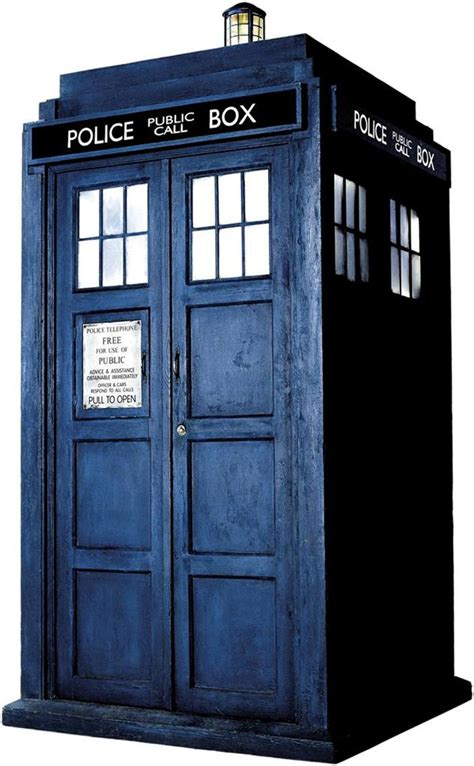 dr who tardis phone booth decal wall sticker home decor