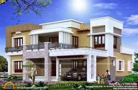 modern house plan 2800 sq ft kerala home design and stunning different views of 2800 sq ft modern home kerala