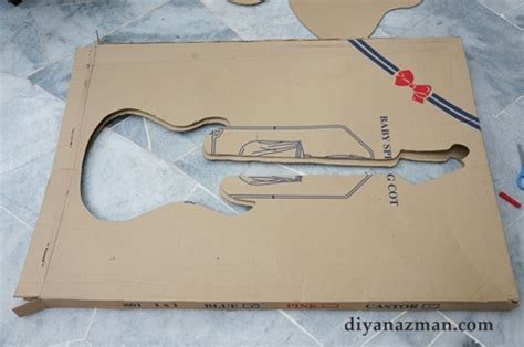 How To Make A Paper Mache Guitar - how to make a paper mache guitar 28 images how to make