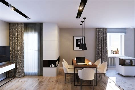 Decorate Small Apartment stylish open layout apartment design in saint petersburg