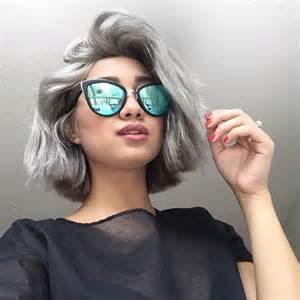 trendy gray hair styles 2016 2017 trendy grey hair colors and hairstyles best