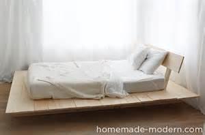 Modern Platform Bed Diy Modern Ep89 Platform Bed