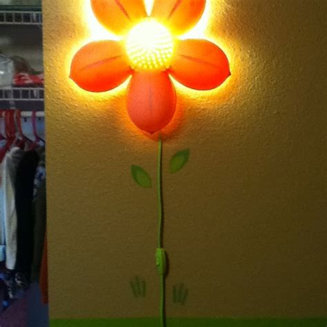 stylin up the awesome ikea flower light with some wall