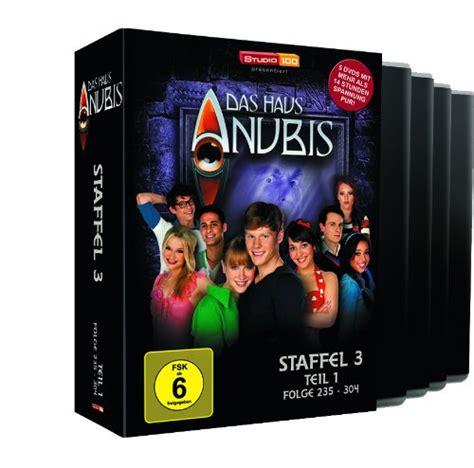 das haus anubis staffel 1 das haus anubis staffel 3 1 episoden 235 304 4 dvds