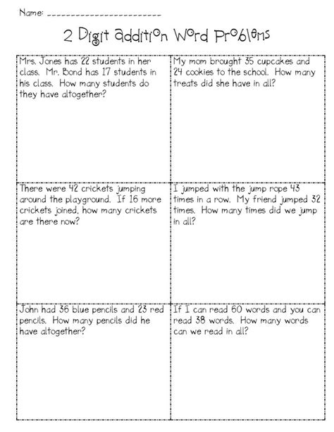 word problem addition worksheets addition with regrouping word problems ideas for the classroom words and word