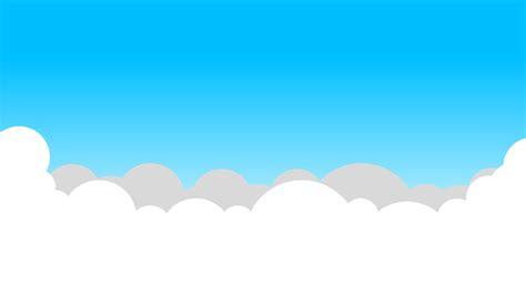 cartoon blue sky  white clouds  backgroundsbest