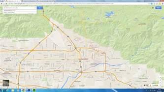 Cal State San Bernardino Map by San Bernardino California Map